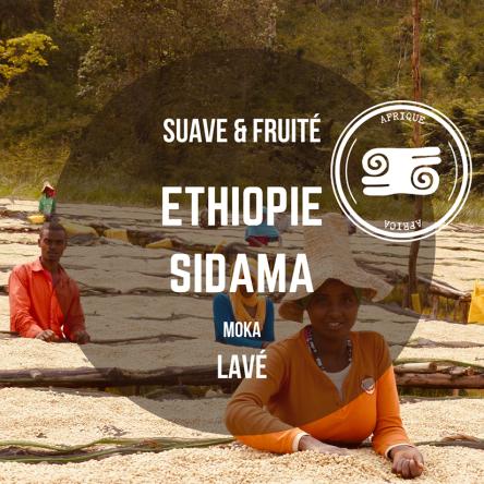 Café Éthiopie – Sidama – Arabica moka lavé