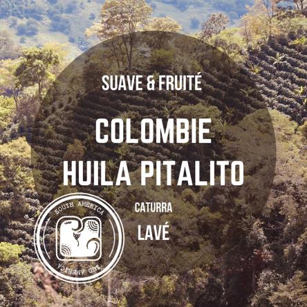 Café de Colombie - Huila Pitalito, arabica lavé