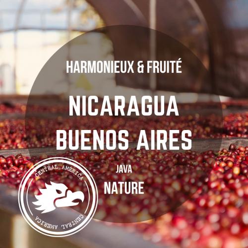 Café Nicaragua - Buenos Aires, arabica java nature