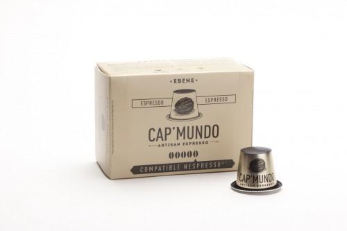 Ebene (corsé) - capsules compatibles Nespresso