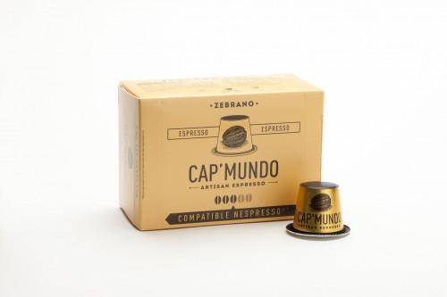 Zebrano (équilibré) - Capsules compatibles Nespresso (x10)